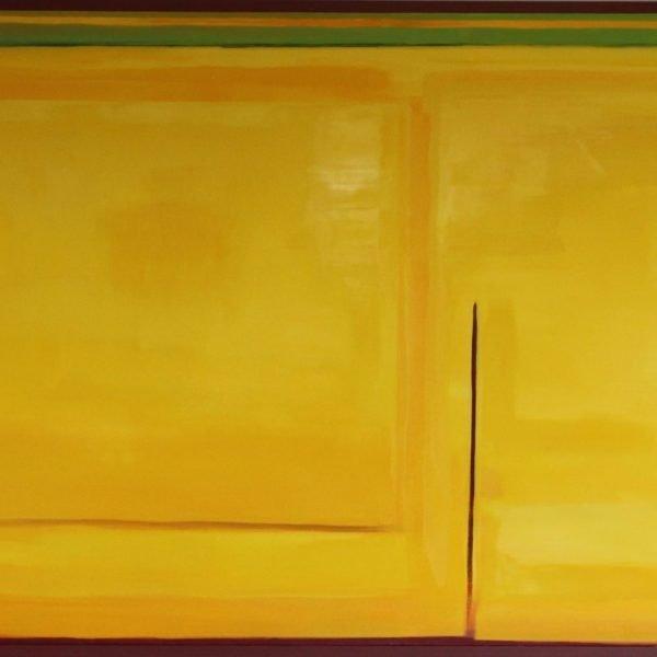 Brave Space Oil on Linen 180 x 300 cm