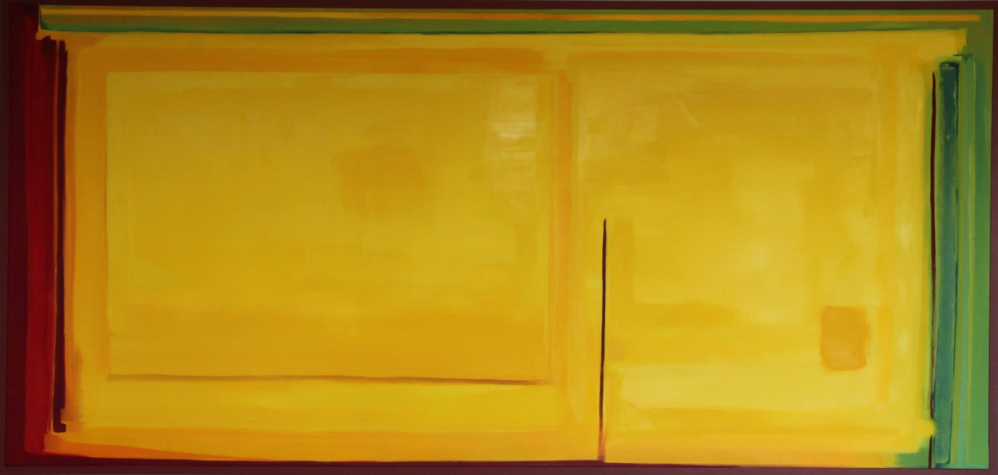 Brave Space Oil on Linen 180 x 300 cm