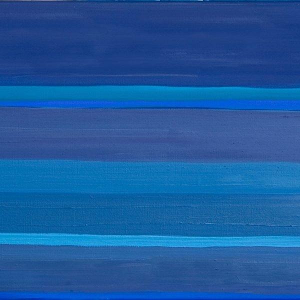 Promenade des Anglais Nice Oil on Linen 60 x 120 cm
